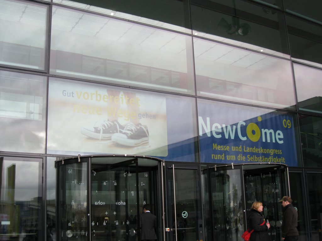 :: NewCome09 - Messe Stuttgart